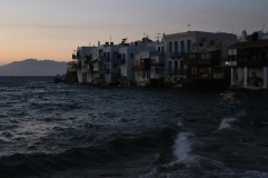 Huizen en barretjes aan zee - Mykonos strandvakantie Cycladen
