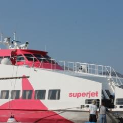 Eilandhoppen met de Superjet - lekker snel reizen op je strandvakantie Cycladen Griekenland