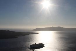 Heerlijke temperatuur, zowel overdag als 's avonds - strandvakantie Cycladen Griekenland