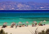 Gouden strand Chrissi island - Kreta zonvakantie - onbewoond eiland - bron: Chrissi island - Kreta zonvakantie - strand. bron: trekearth.com