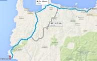 route elafonisi chania kreta