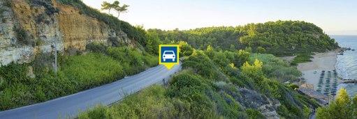 griekenland auto huren vakantie