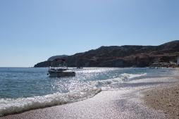 branding strand Milos Cycladen Griekenland