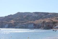 heerlijk genieten zon zee strand vakantie Cycladen