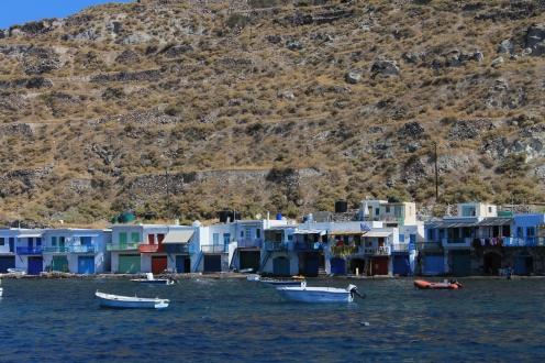 vissersdorpjes Milos Cycladen