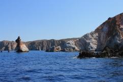 rotsen zee Cycladen Zonvakantie Hotel