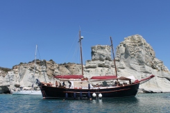 boot vakantie zoeken boeken online Milos Cycladen