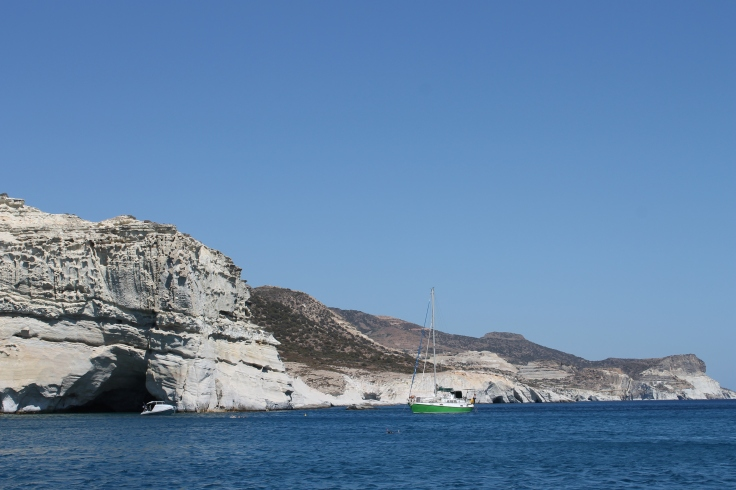 per boot ferry Milos Griekenland vakantie zoeken boeken