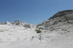 puimsteen natuur vakantie zon zee strand Milos Cycladen