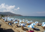stalis strandvakantie, stalida kreta zon, zee en strand