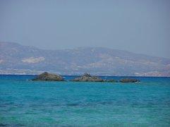 met de boot naar Chrissi Island - strandvakantie Griekenland