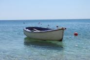 Milos - Paleochori Beach Bootje