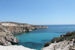 Milos - Tsigrado Beach