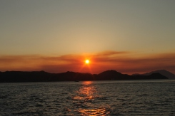 Milos - Zonsondergang