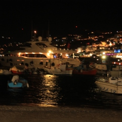 Mykonos by night