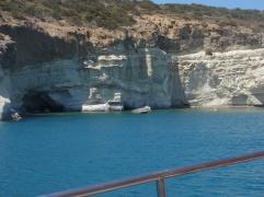 op de boot excursie milos kleftiko