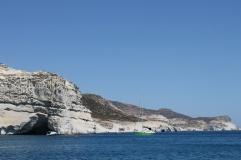 puimsteenrotsen op Milos - strandvakantie Griekenland