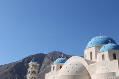 Santorini - Kerk Perissa Beach