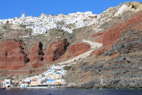 Santorini - Oia (2) - strandvakantie Cycladen