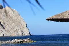 Santorini - Perissa Beach strandvakantie Griekenland