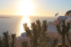 Santorini prachtig uitzicht