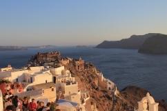 Santorini - Zonsondergang Oia
