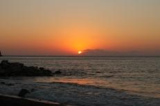 Santorini - Zonsopgang Perissa Beach I