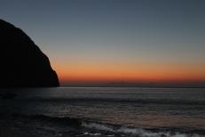 Santorini - Zonsopgang Perissa Beach