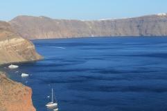 Santorini - uitzicht strandvakantie Griekse Cycladen