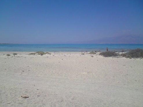 Strand Chrissi Island - zonvakantie Griekenland