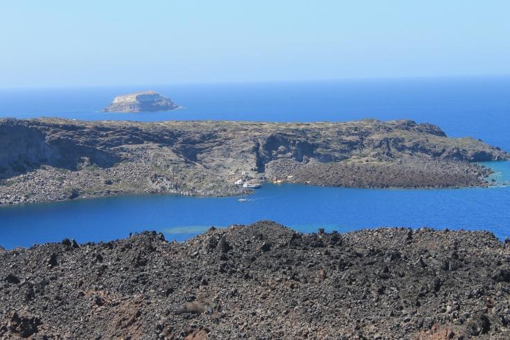 vulkaan tour Santorini strandvakantie