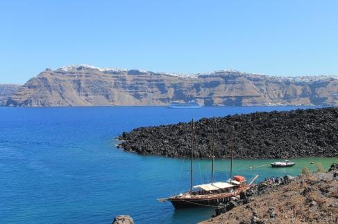 vulkaaneiland tour Santorini