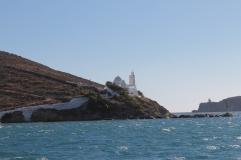 Witte kerk op Ios, Strandvakantie Griekenland
