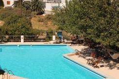 zwembad bij Pension Irene