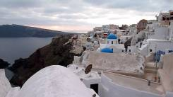 Santorini in de Winter - zonvakantie