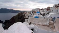 Santorini in de Winter - zonvakantie