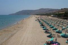 mooi strand van episkopi in griekenland - top 10