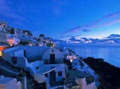 Oia-Coast-Cycladen Griekenland