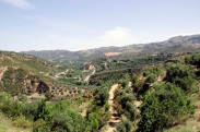 Platteland Kreta natuur vakantie strand zon