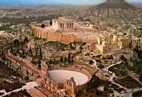 Athens-zonvakantie