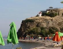 beach strandvakantie lesbos griekenland