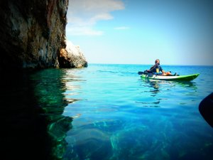 ecotoerisme zonvakantie kreta kano