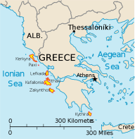Ionian_Islands lefkas zonvakantie