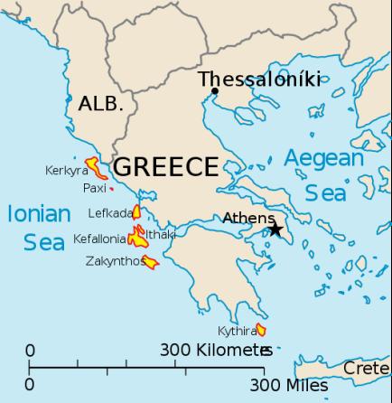 Ionian_Islands lefkas zonvakantie