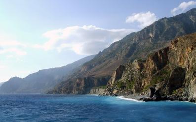 klif berg kreta vakantie griekenland
