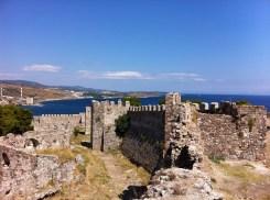 Lesbos-Mytilene kasteel-strandvakantie
