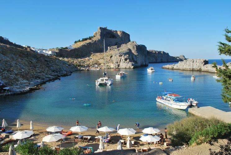 Lindos-Rhodos-Greece- zonvakantie