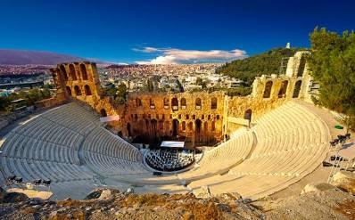 Odeon+of+Herodes+Atticus-zonvakantie Griekenland