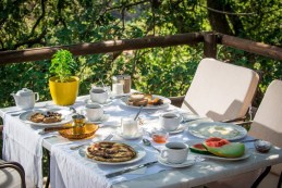ontbijt in eco hotel
