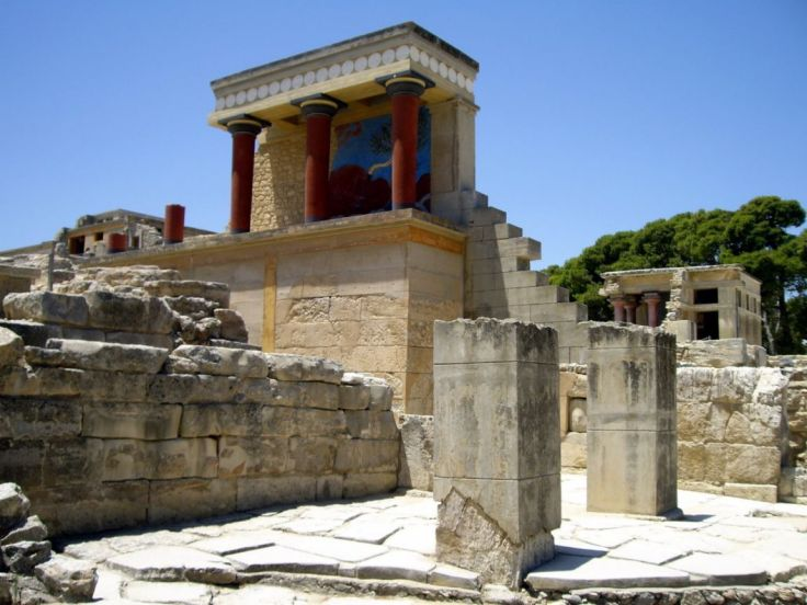 Paleis Minos - kreta zonvakantie